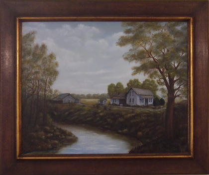 Homeplace by Mildred Hahn